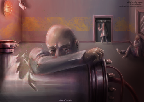 SCP Art: SCP-008 - Zombie Plague by GamingHedgehog