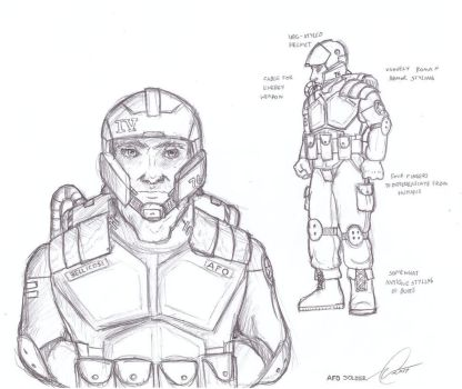 Chaos Chronicles - AFO Soldier by Chris000
