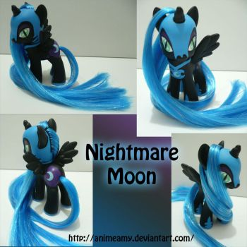 Nightmare Moon by AnimeAmy