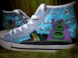 Day of Tentacle  - Shoes by LysCarou