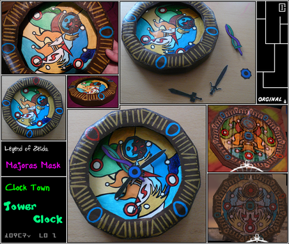 Zelda - Majoras Mask - Clock by Riomy