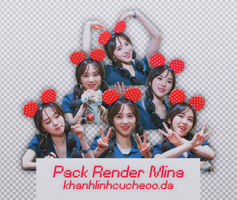 [20072015] Pack Render Mina (AOA) by KhanhLinhCucheoo