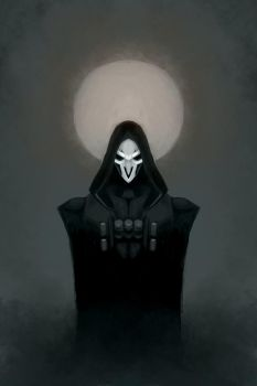 Reaper speedpainting by LiliLith