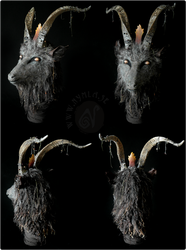 Baphomet Goat Mask by Nymla