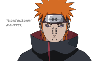 Pain (Naruto Shippudden) by MrUpper