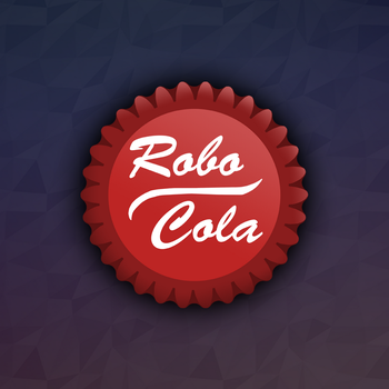 Robo-Cola Bottlecap | Decal by Klarkao