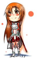 Asuna by Silvers-Ace