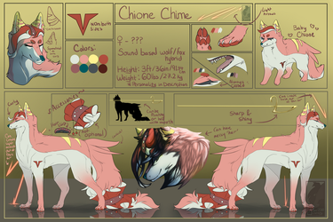.Reference Sheet. Chione Chime 1.0 by SweetElectricity