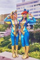 Bronycon 2015 - Wonderbolts by XenPhotos
