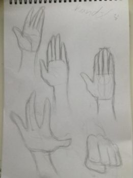 Sycra hands tutorial  by IssyInked