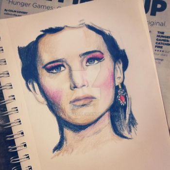 Katniss Everdeen Catching Fire by Callused