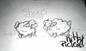 SHEEP by kittypicles221