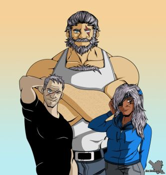 Respect Your Elders (Overwatch) by EternASH