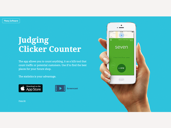 Clicker Website by deepdesign