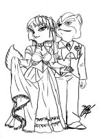 Fox and Krystal married by BlackBy
