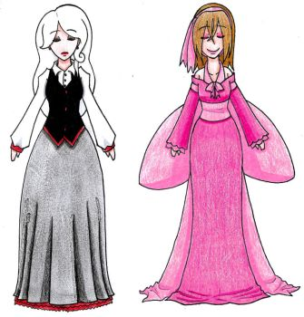 Dresses by Hitomi-chan666