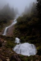 waterfall from the clouds by torobala