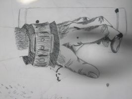 Hand of a Monster by conrislupus