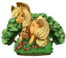 MLPFIM - Applejack by DeBellini
