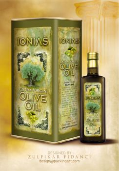 Ionias Oliveoil Packaging by byZED