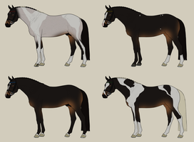 Warmblood Adopts 50pts {1/4 OPEN} by StarrMountainEstate