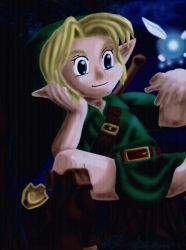 Young Link by Ryu-mithril