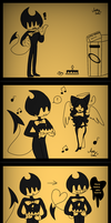 Happy Birthday Bendy!!!!! by cutelittlepikakitty