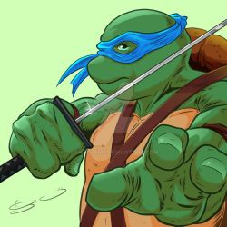 Leo! TMNT  by shaotemp