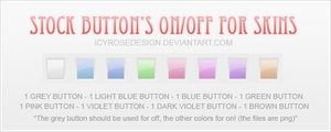 Stock_buttonskins002 by icyrosedesign