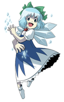 Cirno Time by CubeWatermelon