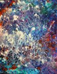Abstract-purple no. 3- explosion by pfeight