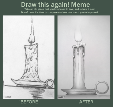 Draw this again! Meme by Krueder
