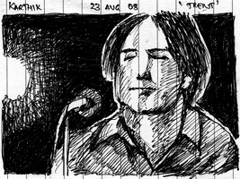 Trent Reznor - Nine Inch Nails by karthik82