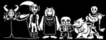 The Main Cast Of UnderTale by RudyThePhoenix