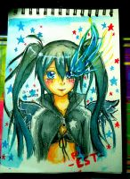Black Rock Shooter by jaimie07