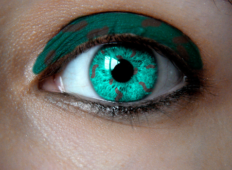 Birthstone Eye: Turquoise by Padfoot7411