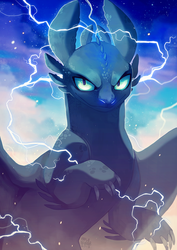 Toothless by MapleSpyder