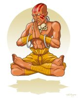 Dhalsim by Teaessare