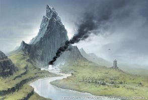 The Lonely Mountain by joelhustak