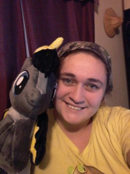 my plushy  arrived by PaintedPatience