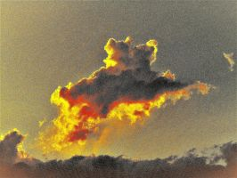 Abstract cloud by knighttemplar1