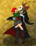 Chise and Elias by JulyDis