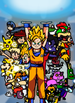 World Crossover (New Background) by Mighty355