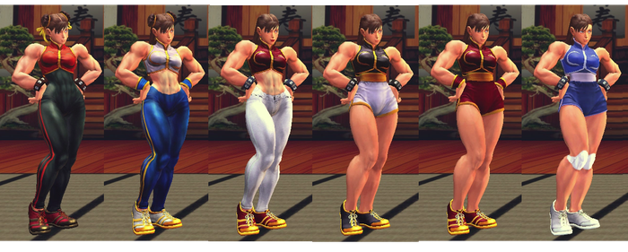 USF4 Chun-Li Alpha Mix Beta by TheLastGallant