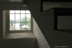 Window and Stairs  by peterkopher