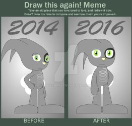 Draw again meme(Benly) by Jackson93