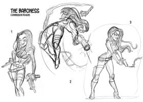 The Baroness_Commission roughs by tombancroft