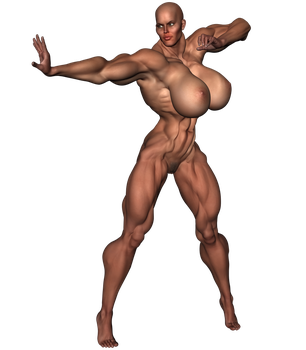 Stock-290lb-6ft6in-20bi-Warrior-P13-A01-Keiko17 by ShadowRx