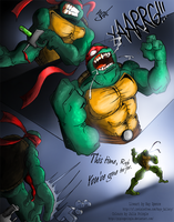 TMNT Colaboration by PipingPringle