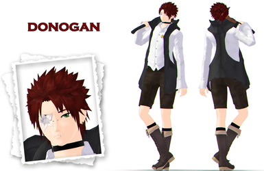 MMD update: Donogan by KlaidAstoria